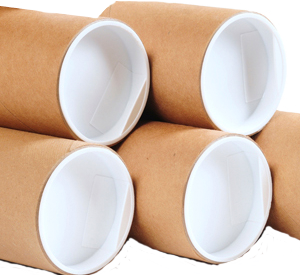 "Postal Tubes 2"" (50mm) Diameter Various Lengths With End Caps"