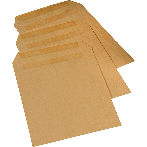 Manilla Self Seal Envelopes C4 A4 Half Price