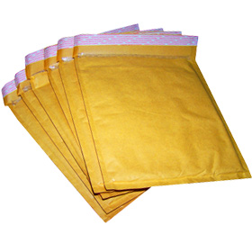 DVD Size 170x215mm Gold Padded Bubble Envelopes