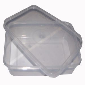 Plastic 520ml Microwave Food Takeaway Containers And Lids