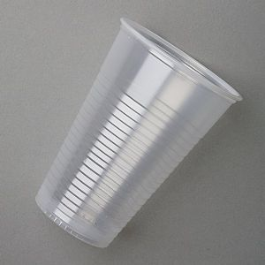 Translucent Polystyrene Plastic Drinking Cups 8oz